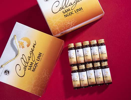 Đánh giá sản phẩm nước uống collagen Sâm Ngọc Linh