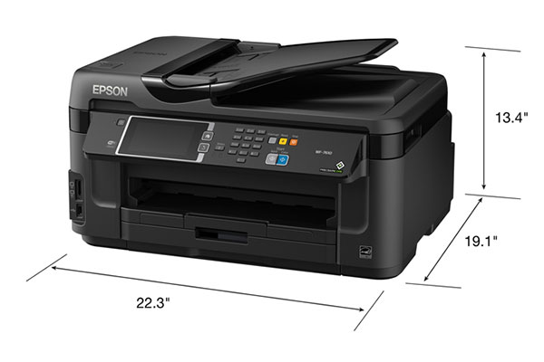 [Review] Đánh giá máy in Epson Workforce WF-7610 1
