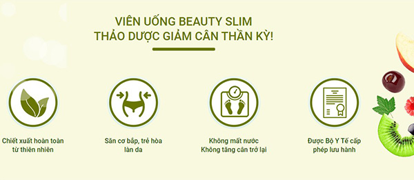 Giảm cân Beauty Slim