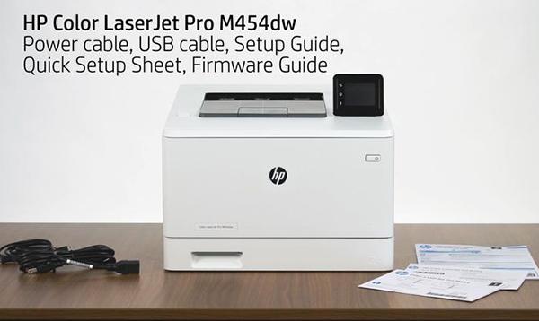 Máy in HP LaserJet Pro M454dw