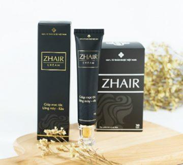 Đánh giá sản phẩm hỗ trợ mọc tóc Zhair Cream