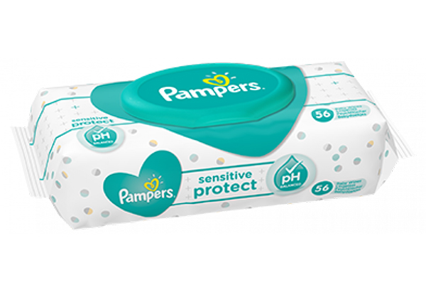 Khăn lau Pampers Sensitive Protect