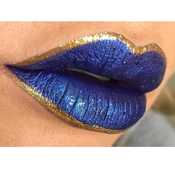 Blue Gold Lipstick