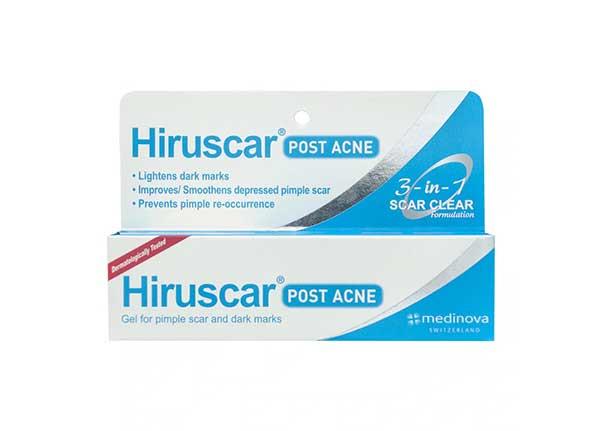 hiruscar post acne