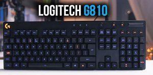 [Review] Đánh giá sản phẩm bàn phím cơ Logitech G810 1