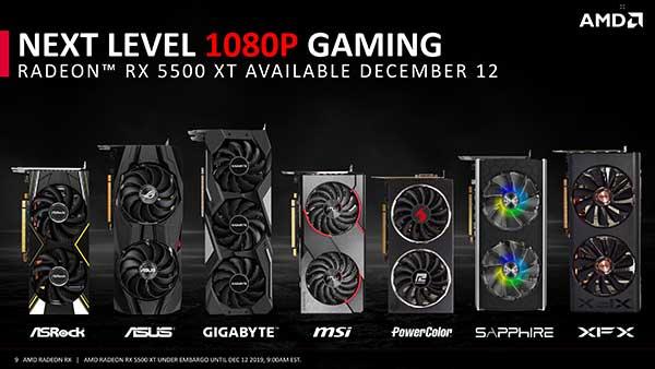 Có nên mua AMD Radeon RX 5500 XT