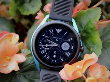 Đánh giá đồng hồ Emporio Armani Smartwatch 3