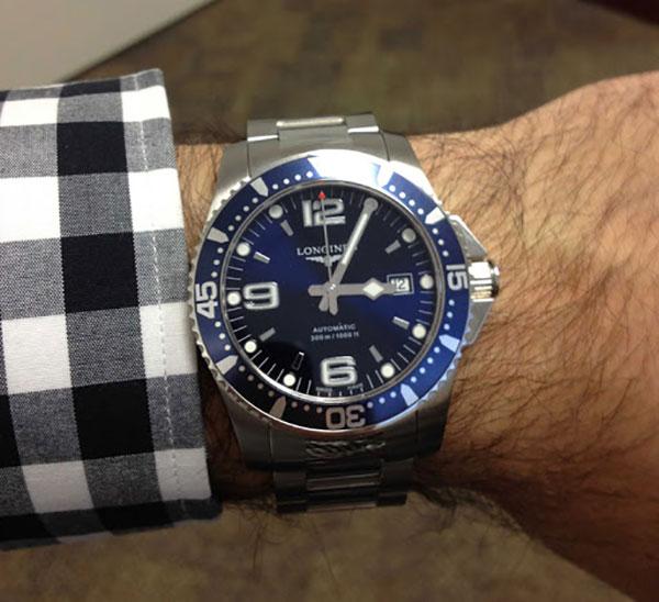 Đánh giá Đồng hồ Longines Black Dial HydroConquest
