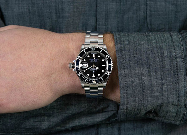 Đồng hồ Rolex Submariner Date Black Dial Steel Model