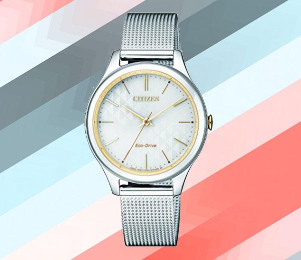Đồng hồ Citizen Eco Drive EM0504-81A