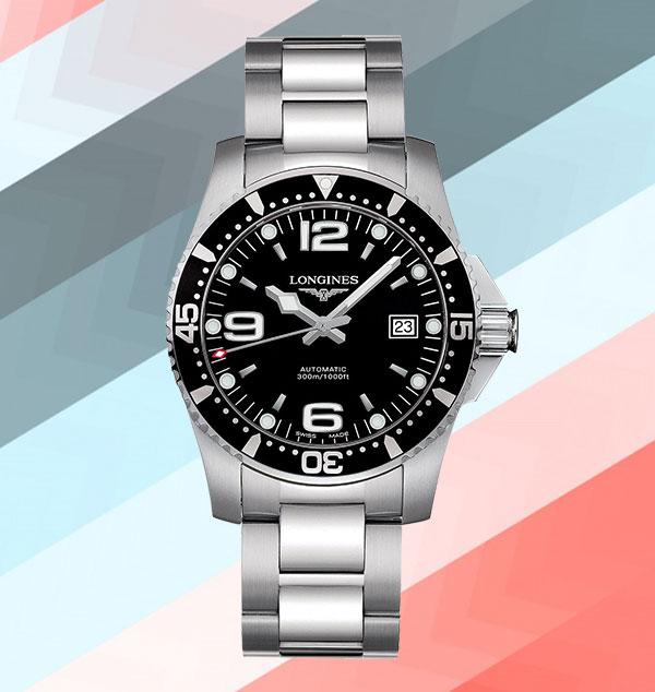 Đồng hồ Longines Black Dial HydroConquest