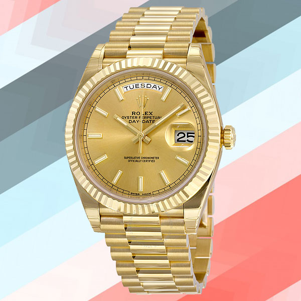 Rolex Day-Date Automatic Champagne Dial