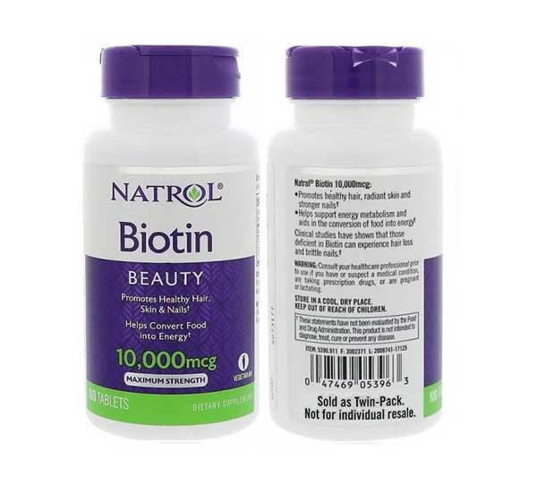 Sản phẩm Natrol Biotin