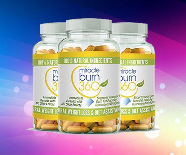 Viên uống giảm cân Miracle Burn 360