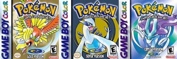 Pokemon Gold Silver Crystal