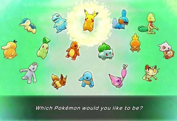Pokémon Mystery Dungeon: Rescue Team DX có hay không