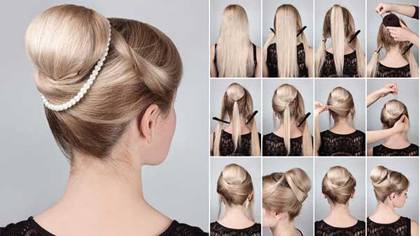 Búi tóc công chúa