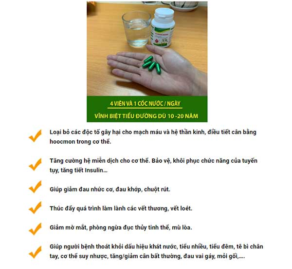 Điều trị tiểu đường