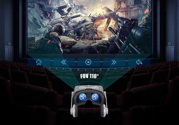 Góc nhìn VR Shinecon G07E