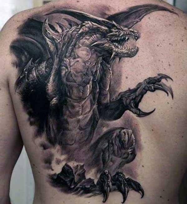 hình xăm quỷ rồng