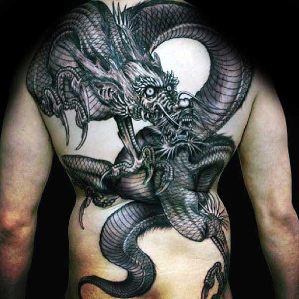 HÌnh xăm rồng đẹp nhất