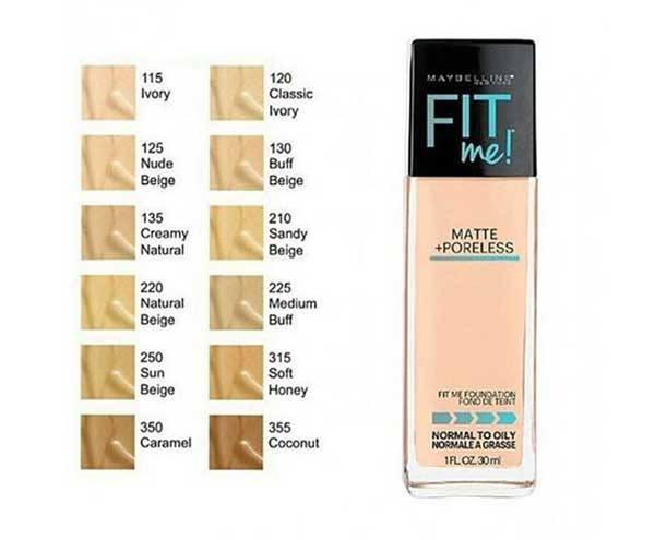 Kem che khuyết điểm Maybelline Fit Me