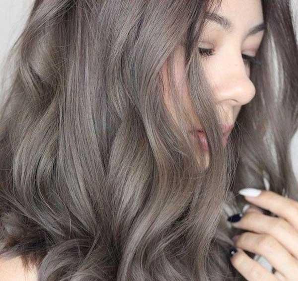 Kiểu tóc xám khói