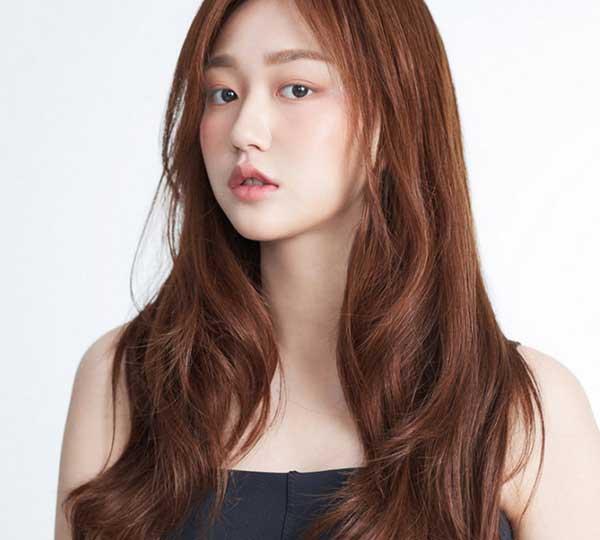 Màu tóc hổ phách