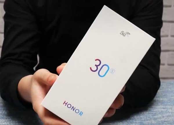 Đánh giá điện thoại Honor 30S 1
