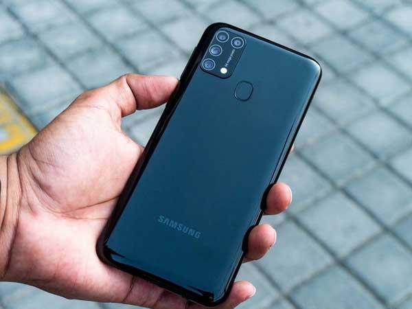 Thiết kế Samsung Galaxy M31