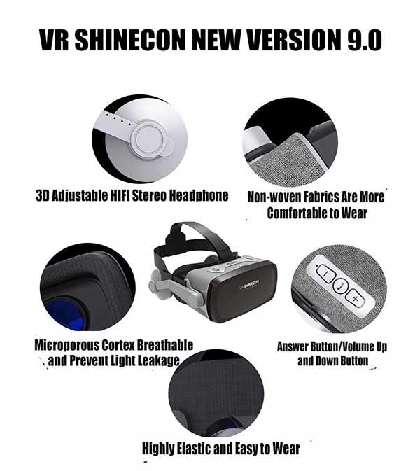 Thiết kế VR Shinecon G07E