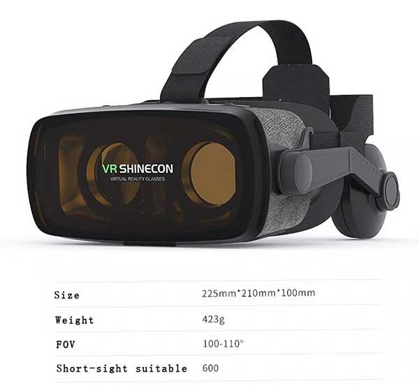 Thông số VR Shinecon G07E