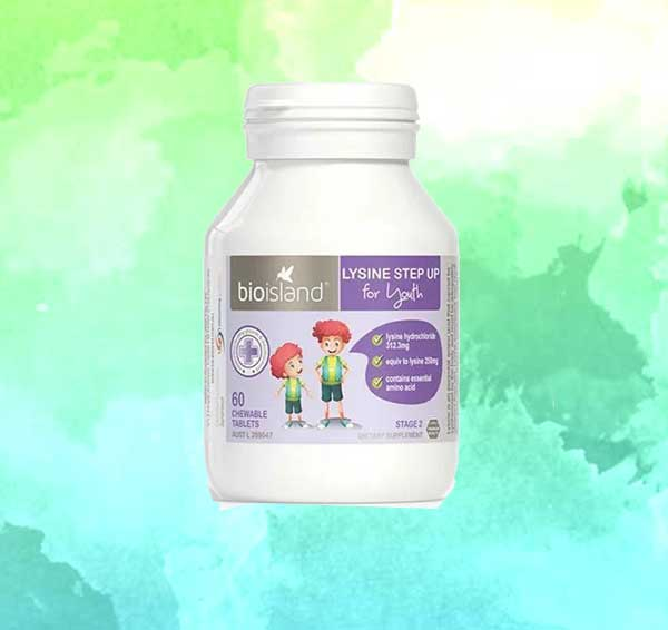 Thuốc tăng chiều cao Bio Island Lysine
