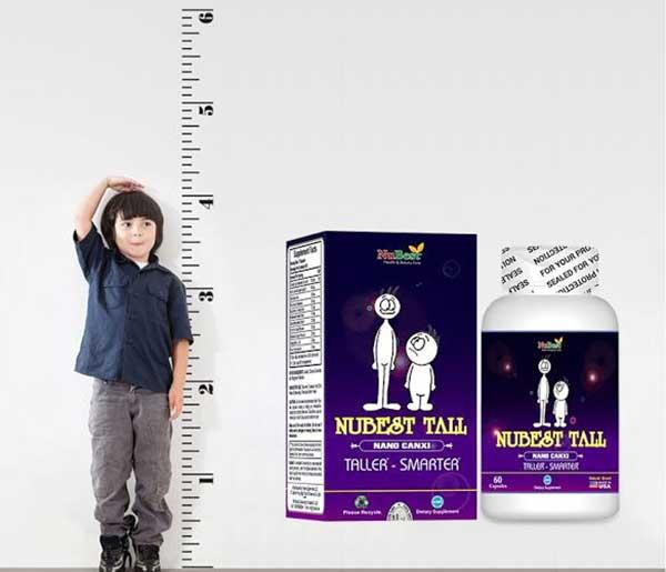 Thuốc tăng chiều cao Nubest Tall