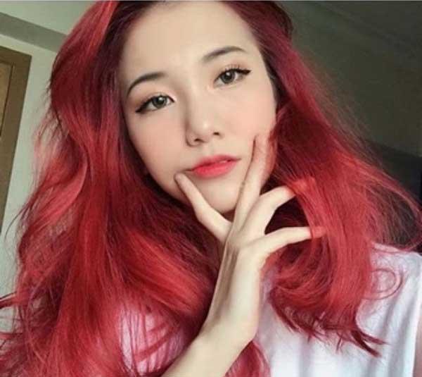 Tóc màu đỏ mặt trời