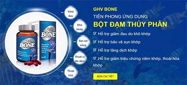 Viên khớp GHV Bone