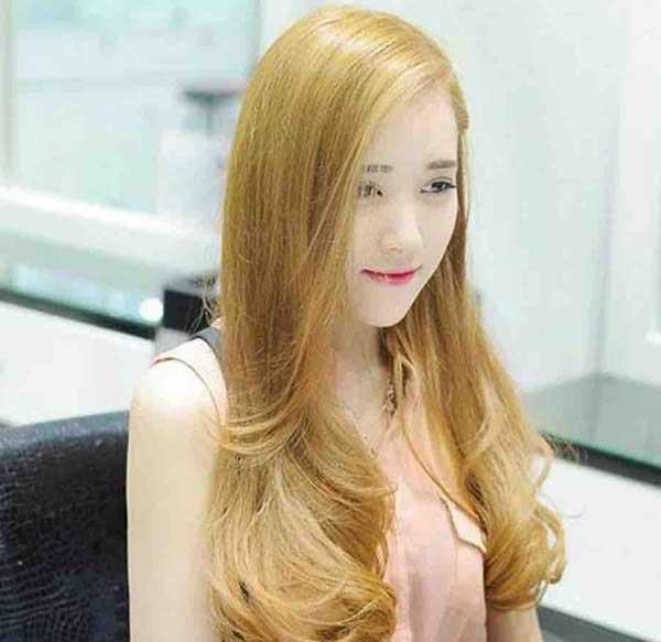 Các màu tóc vàng hoe