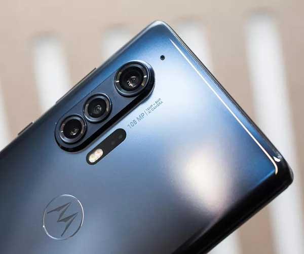 Camera Motorola Edge Plus