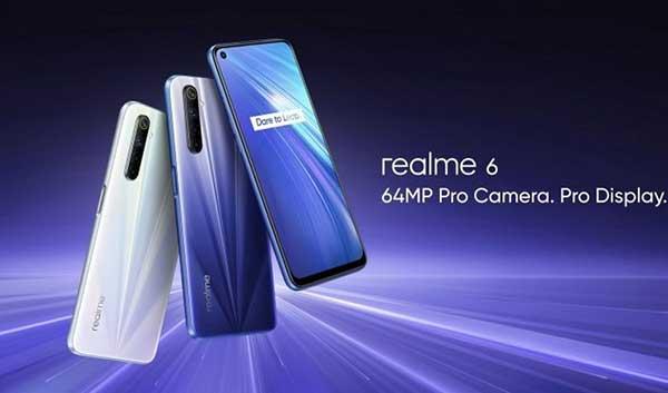 Điện thoại Realme 6 Pro