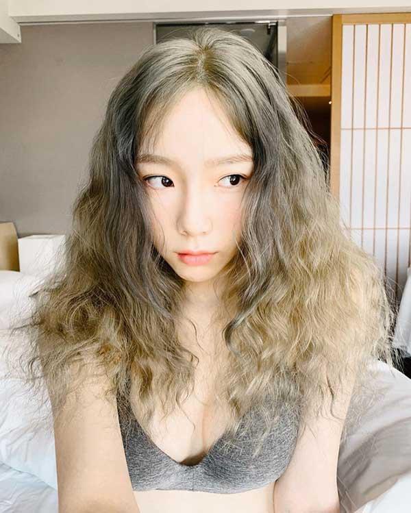 Màu tóc hàn rêu
