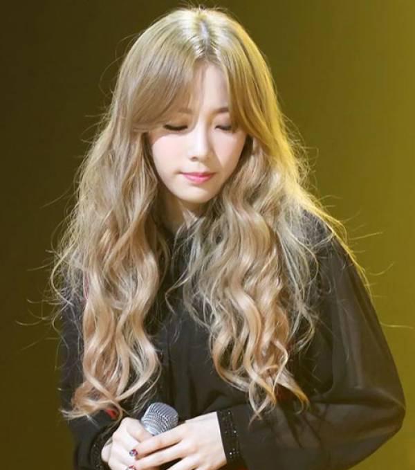 màu tóc vàng đẹp