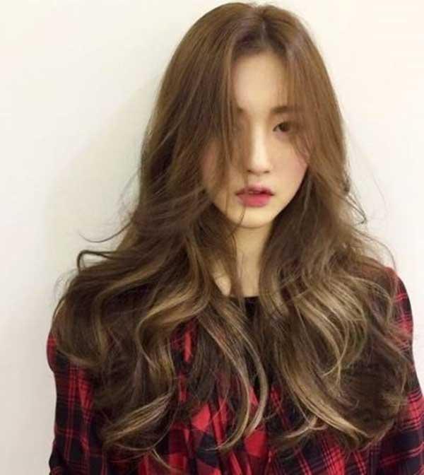 Màu tóc vàng đồng đẹp