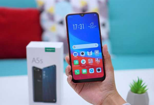 Review Oppo A5S Salenhanh