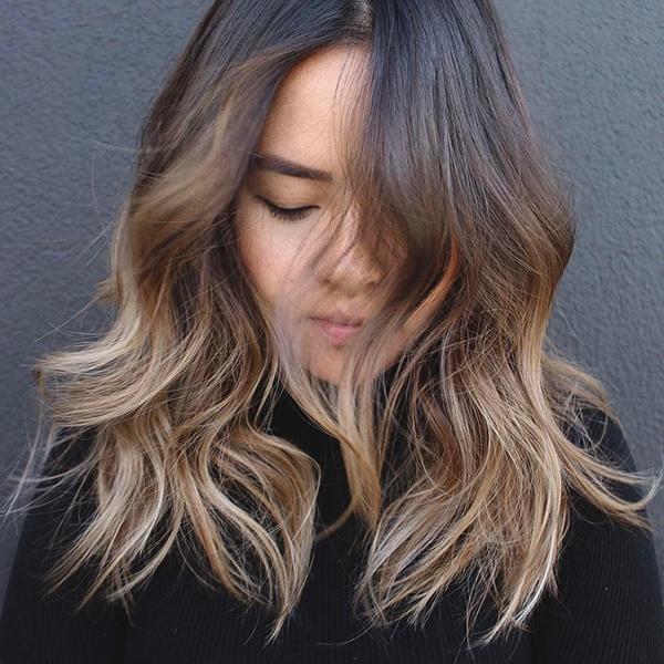 Tóc vàng 2 màu