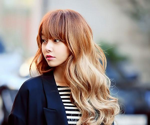 Tóc vàng đuôi