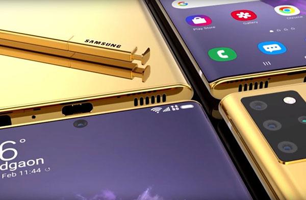 Điện thoại Samsung Galaxy Note 20 plus