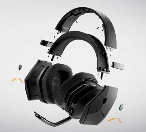 Giới thiệu tai nghe Alienware AW988