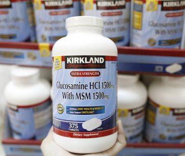 Đánh giá viên uống xương khớp Kirkland Glucosamine Chondroitin
