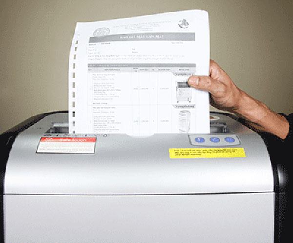 Máy hủy giấy tốt nhất