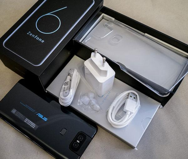 Mở hộp Asus Zenfone 6